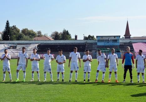 Luceafărul Oradea va juca în turul IV al Cupei României la fotbal, pe terenul echipei Sănătatea Cluj