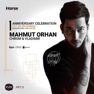 Clubul Intense, aniversare de un an: Mahmut Orhan, pentru prima oară în Oradea, sâmbătă, 15 decembrie!