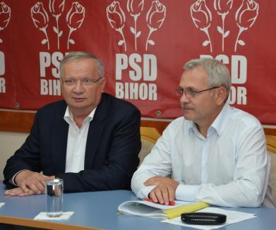 """Taberele din PSD sunt cu cuţitele pe masă, între Dragnea şi Tudose. PSD Bihor e """"plecat de-acasă"""""""