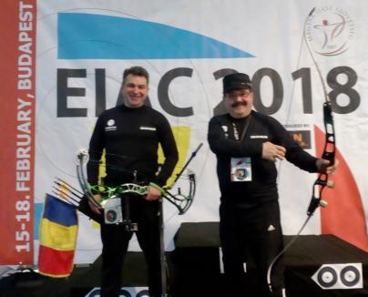Orădeanul Călin Darna, locul 6 la Campionatul European IFAA de tir cu arcul