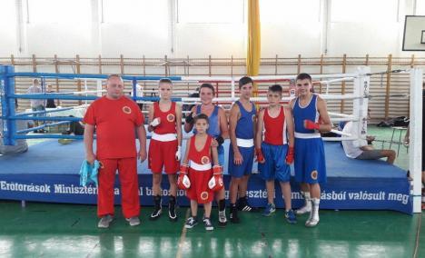 Pugiliştii de la Basti Box Salonta, victorioşi în Ungaria, la Gyongyos