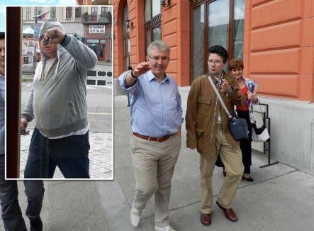 Penalii lui Micula: Lucrările ilegale de la restaurantul Transilvania, apărate cu malaci agresivi