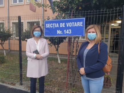 Candidatele USR-PLUS la Primăria Oradea şi preşedinţia Consiliului Județean: Votul durează câteva minute, efectele câţiva ani (VIDEO)