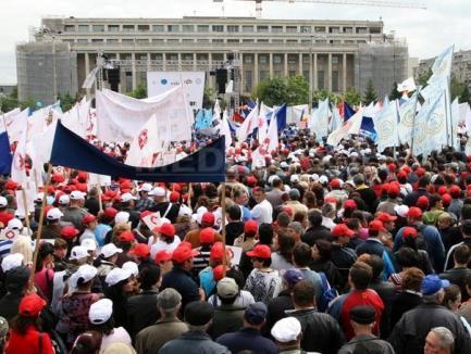 Sindicatele anunţă grevă generală