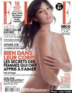 Monica Belluci, goală pe coperta Elle la 46 de ani