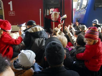 Vine Moşu' şi-n Oradea! Primăria va da până la urmă pachete cu cadouri copiilor orădeni