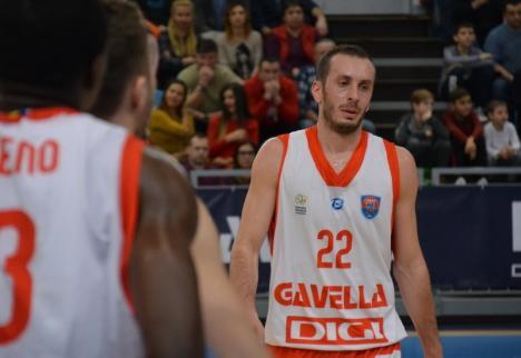 Baschet: CSM CSU Oradea nu se poate baza pe Muhamed Pasalic în acest sezon