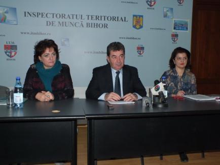 Şeful ITM Bihor: nu e adevărat că salariile în Bihor sunt printre cele mai mici din ţară, în schimb e destulă muncă la negru