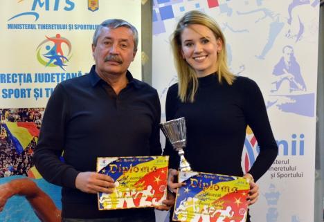 Bianca Benea şi Nicolae Ille, la Campionatului Mondial de Scrimă pentru Cadeţi şi Juniori