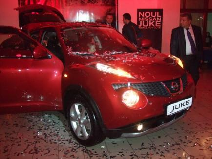 Noul Nissan Juke, lansat la Oradea (FOTO)