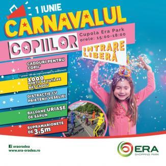 1 iunie special: Carnavalul Copiilor, la ERA Park Oradea!