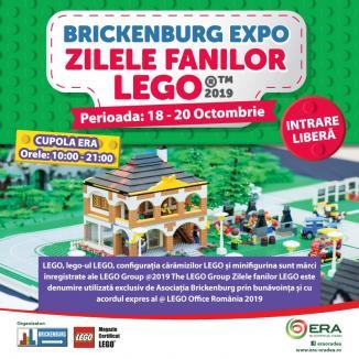 Fanii LEGO sună adunarea la ERA Park Oradea!