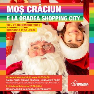 Moş Crăciun e la Oradea Shopping City!