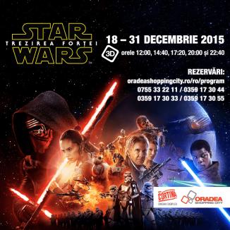 Star Wars: Trezirea Forţei, la Cinema Cortina Digiplex. Fă-ţi rezervare!