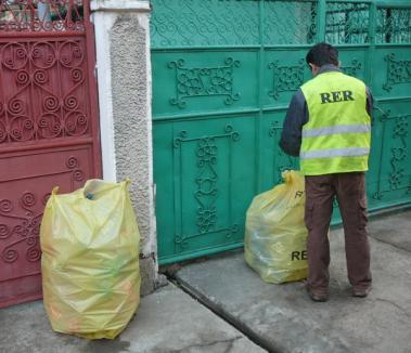 Colectarea selectivă a deşeurilor reciclabile continuă
