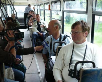 Nemţii vin la Oradea ca să se dea cu tramvaiul