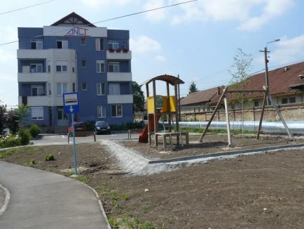 Noi zone verzi amenajate în Oradea