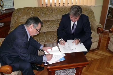 Universitatea din Oradea a semnat un acord cu Universitatea de Arhitectură şi Urbanism Ion Mincu