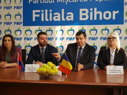 Eugen Tomac confirmă că PMP l-a propulsat pe Horia Carţiş în funcţia de subprefect de Bihor