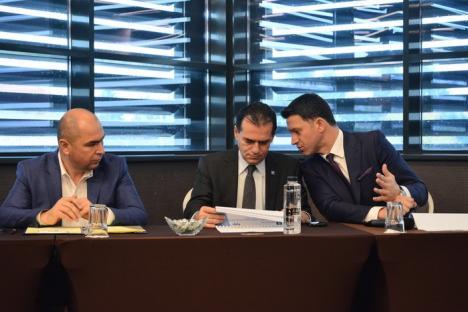 Ludovic Orban la Oradea: 'PSD îşi bate joc de banii europeni!'