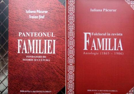Lansare de carte: Primele două volume din colecţia Cărţi de Patrimoniu a Revistei Familia