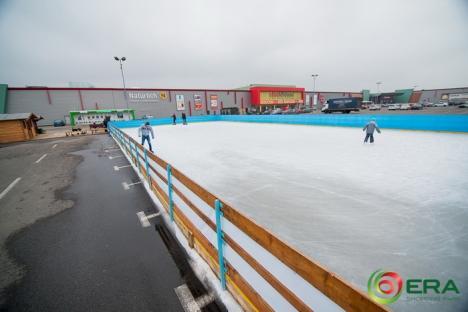 Cel mai mare patinoar din oraş s-a deschis la ERA Park!