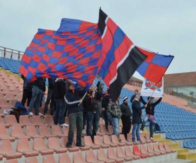 Suporterii orădeni, alături de FC Bihor şi la Alba Iulia