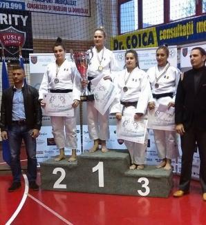 Orădenii, printre protagoniştii Openului României la judo seniori de la Satu Mare