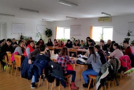 """Ziua Mondială a Apei la CAO: Elevii de la """"Mihai Viteazul"""" au vizitat Staţia de Epurare (FOTO)"""