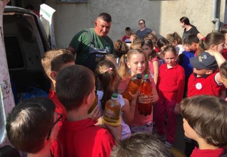 Let's Get Green: Elevii de la Şcoala nr. 11 au aflat cum să fie ecologişti (FOTO)