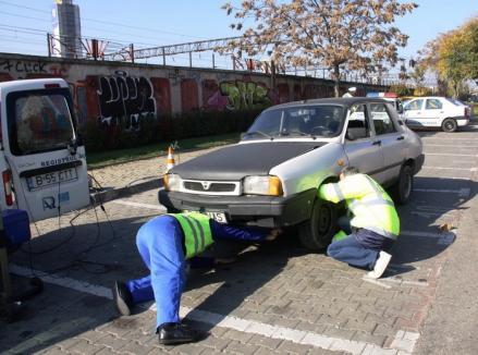 RAR: Mai mult de una din zece maşini controlate prezintă risc iminent de accidente din cauza stării tehnice