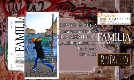 "Lansare ""Familia"" nr. 5 – Coffee & culture pe Corso"
