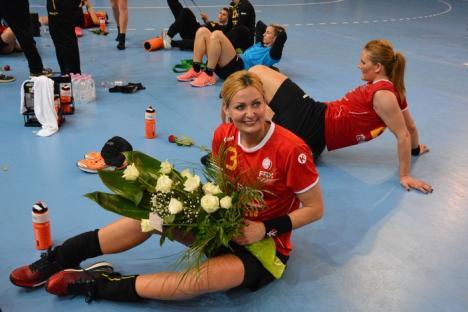 Victorie la Oradea: Naţionala de handbal feminin a învins Austria cu 34-29 (FOTO)