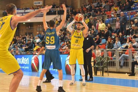 Baschet: România a învins cu 88-83, Kosovo, la Oradea şi păstrează şanse de calificare (FOTO)
