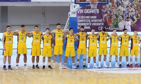 Echipa de baschet masculin U20 a României a promovat în Divizia A a Campionatului European, după ce a învins Rusia, la Oradea, cu scorul de 87-79!