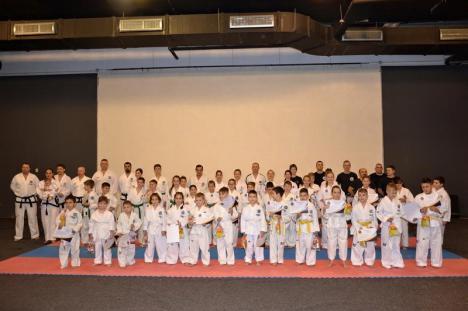Clubul Sportiv Royal Kwon Oradea şi-a aniversat 25 de ani de existenţă