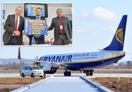 Discuţiile lui Pasztor n-au avut efect: Din noiembrie, Ryanair pleacă din Oradea!