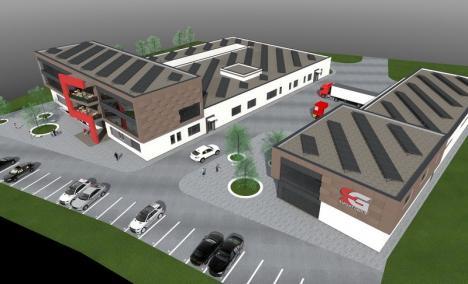 Investiţii de 12 milioane de euro în Parcul Industrial II: Se face un centru de cercetare în produse farmaceutice şi o hală de termopane
