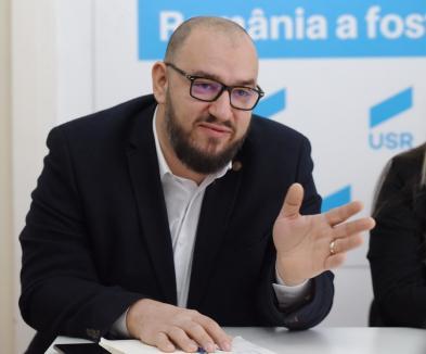 Scandalul din USR Bihor continuă: candidatura lui Silviu Dehelean pentru un nou mandat de deputat, contestată la conducerea partidului
