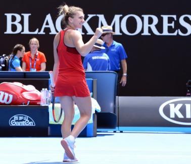 Premieră în tenisul românesc: Simona Halep, în finala Australian Open!