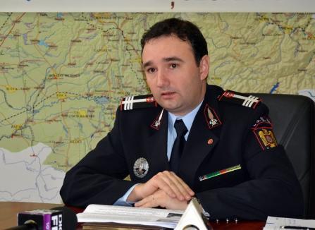 A câştigat concursul: Sorin Caba este inspectorul şef al ISU Crişana