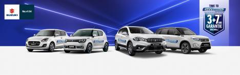 Suzuki își extinde gama de modele hibrid si devine primul producator care comercializeaza doar modele hibrid 12V si 48V.Time to Hybrid!