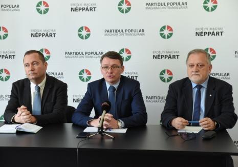 Şeful PPMT, Csomortanyi István: 'Oradea va avea viceprimar maghiar doar dacă va propune PPMT'
