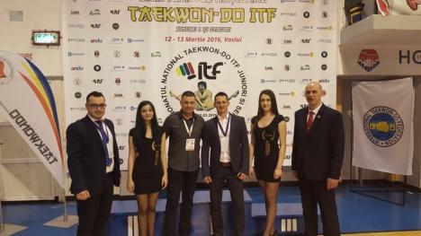 Sportivii de la Tae Kyon Oradea și-au adjudecat 12 medalii la CN de Taekwon-do ITF