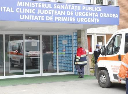 Un băieţel nou-născut a fost abandonat la Unitatea de Primire a Urgenţelor