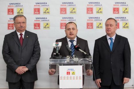 În USL, liberalii şi pesediştii au început separat bătălia pentru Oradea şi Bihor