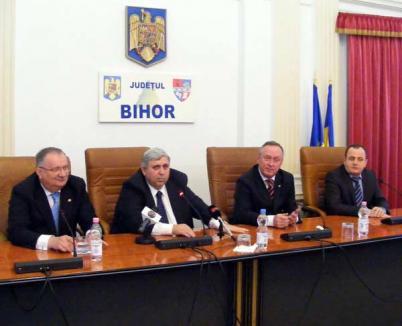 Toţi împotriva PDL: UDMR Bihor a încheiat un protocol de colaborare cu USL