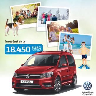 E momentul să ți-l iei: Caddy Life, de la 18.450 Euro, TVA inclus!