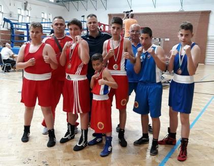 Medaliaţi în Ungaria, pugiliştii de la Basti Box participă la Memorialul Nicolae Talpoş de la Salonta