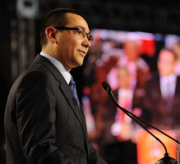 Desant PSD-ist: Premierul Victor Ponta, aşteptat joi la un miting electoral în Oradea